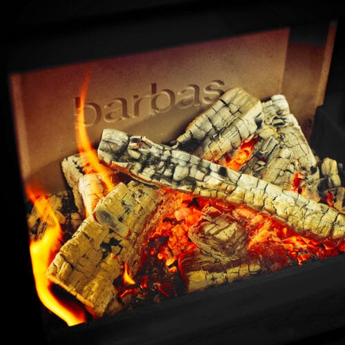 The environment-friendly alternative for heating: the Barbas wood fireplace