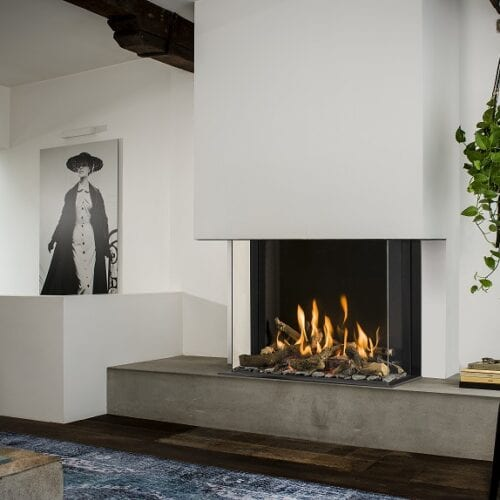 Why is the Smart Bell Panorama gas fireplace a smart choice?